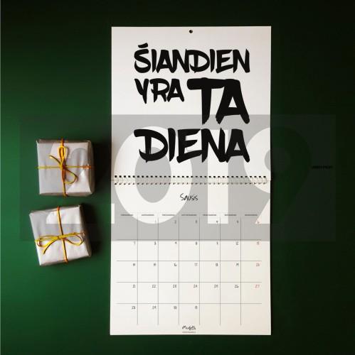 2019 Kalendorius- planuoklis