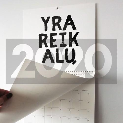 2020 kalendorius planuoklis