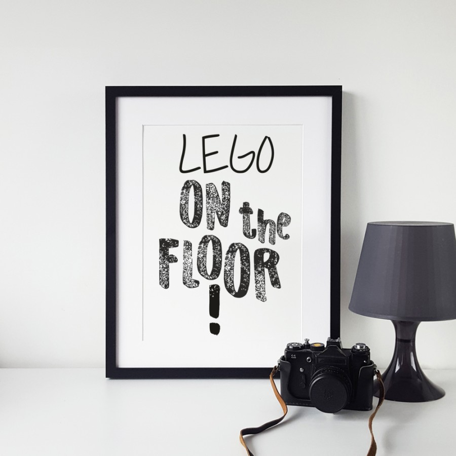 Lego on the floor!